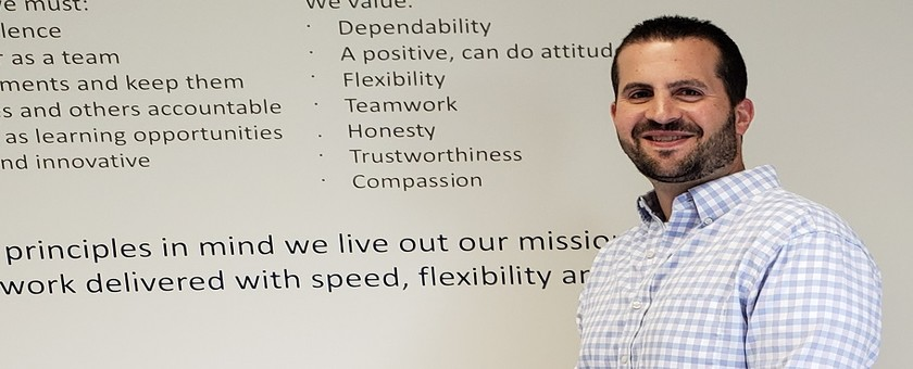 Faces of SSP: Meet Matt Lampo, Product Manager