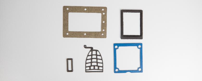 Die Cut EMI/RFI Gaskets for Military, Aerospace, and Communications